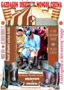 Gazdagon díszített  mongol tradicionális csizma.